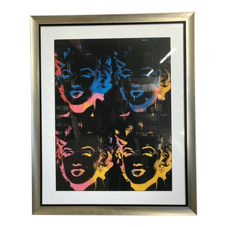 Marilyn Monroe Pop Art Framed Print For Sale