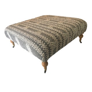 Turkish Square Ottoman / Footrest