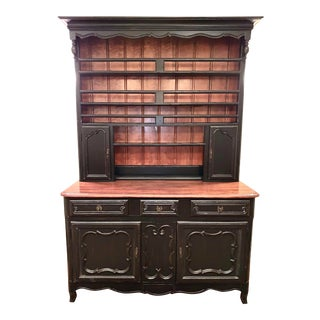 Drexel Heritage French Country/Transitional Hutch For Sale