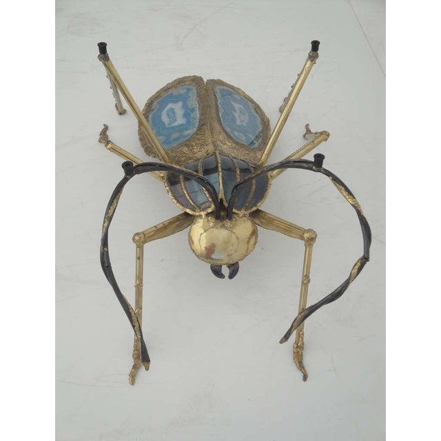 Henri Fernandez Beetle Sculpture or Coffee Table for Atelier Duval-Brasseur - Image 7 of 10