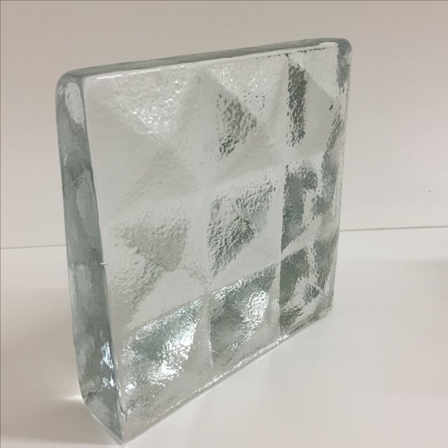 Blenko Glass Bookends- Pair - Image 4 of 5