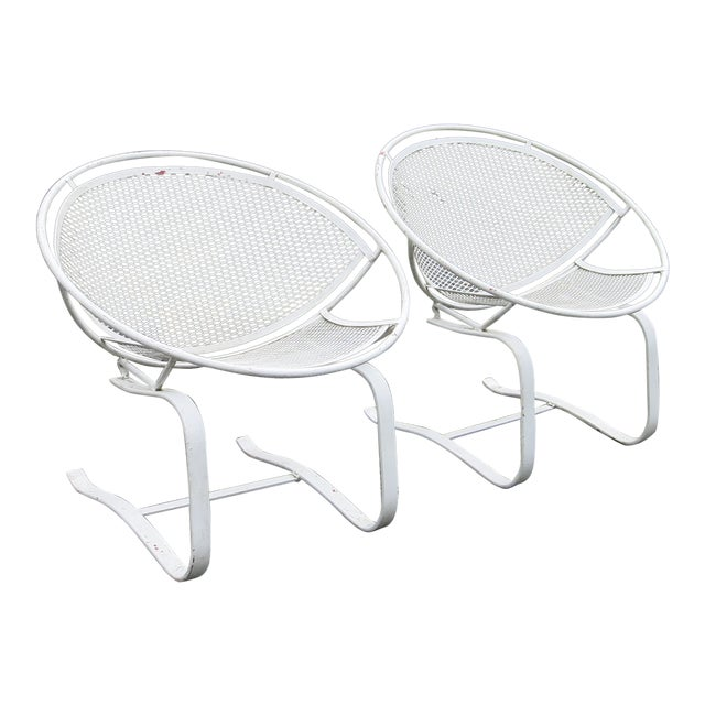 1960s Vintage Salterini Radar Chairs- a Pair For Sale