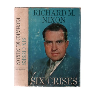 "1962 ""First Edition, Six Crises"" Collectible Book For Sale"
