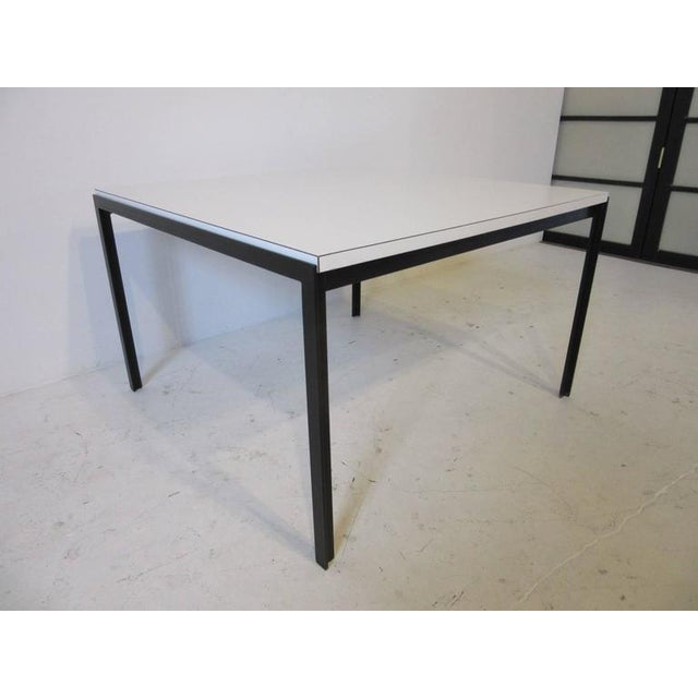 Early Florence Knoll T-Angle Side Table by Knoll Associates For Sale In Cincinnati - Image 6 of 6
