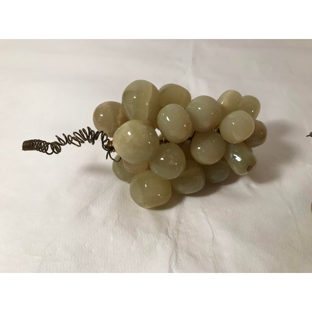 Farmhouse 20th Century Cottage Marble Grape Bunches - a Pair For Sale - Image 3 of 5