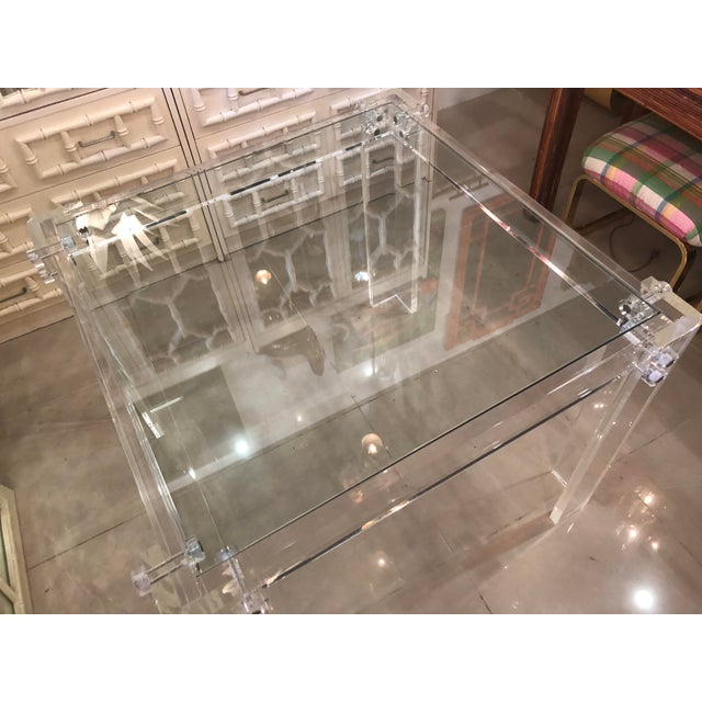 Vintage Lucite Peg Dining Table Or Game Chairish