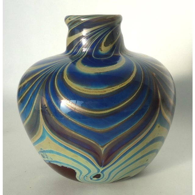 Vintage Studio Glass Vase - Image 4 of 7