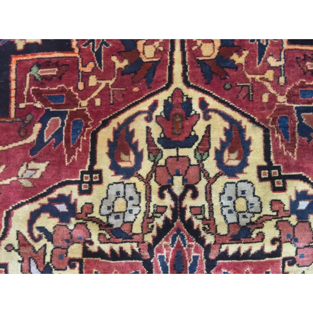 Vintage Turkaman Turkish Rug - 5′ × 8′2″ - Image 8 of 11