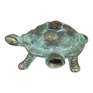 Mid Century Cast Iron Turtle Garden Sprinkler For Sale