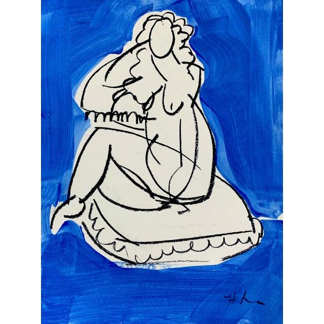 Heidi Lanino Cody 5 Drawing by Heidi Lanino - 11x15 For Sale - Image 4 of 4