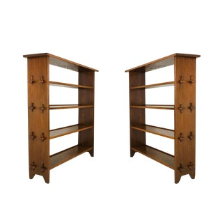 Pair Rustic Adirondack Shelves For Sale