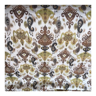 Ikat Woven Fabric - 7 Yards