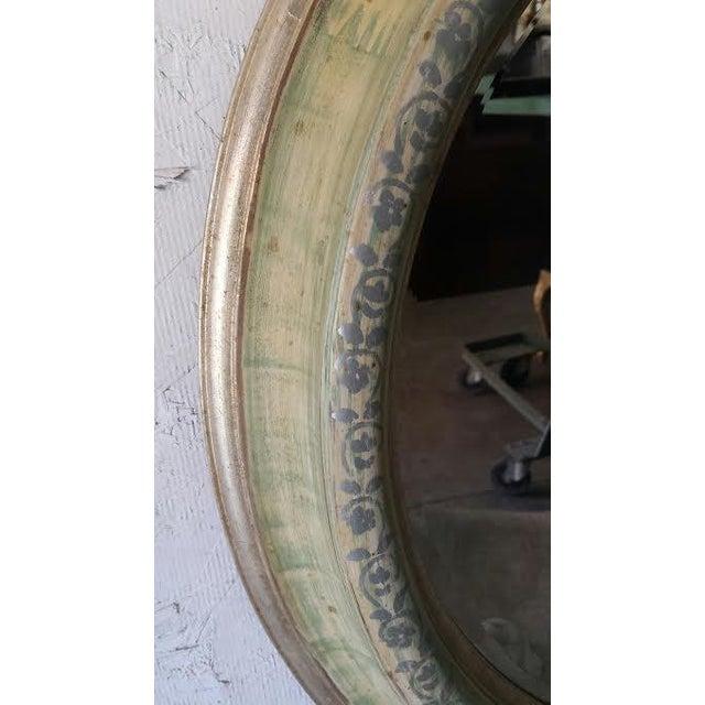 Round Shabby Chic Mirror - Image 3 of 4