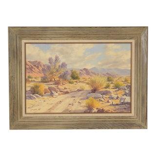 Don E. Miles Desert Painting For Sale