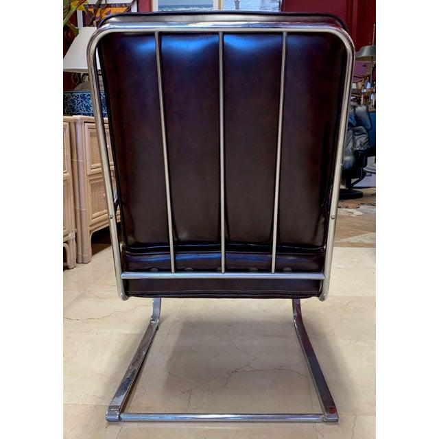 KEM Weber Kem Weber Style Spring Lounge Chair For Sale - Image 4 of 13