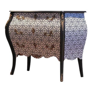 Rococo Art Deco Commode, 1960s For Sale