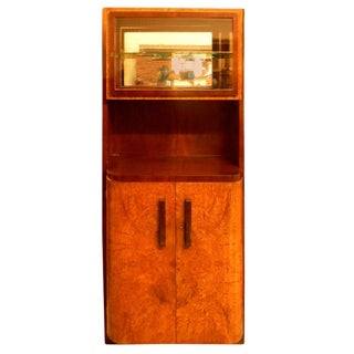 Important French China Vitrine Cabinet by Michel Dufet For Sale