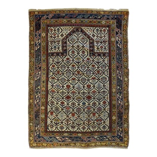 Antique Caucasian Marasali Shirvan Prayer Rug