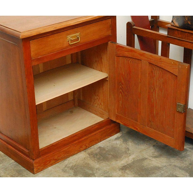Nice cabinet, purchased in France and thought to be from the earlier part of the last century. Well constructed in pine...