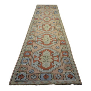 VintageTurkish Runner - 2'7″x12'2″
