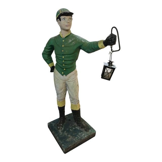 Concrete Lawn Jockey Statue For Sale