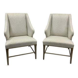 Pair of Modern Wing Chairs by Thom Filicia for Vanguard For Sale