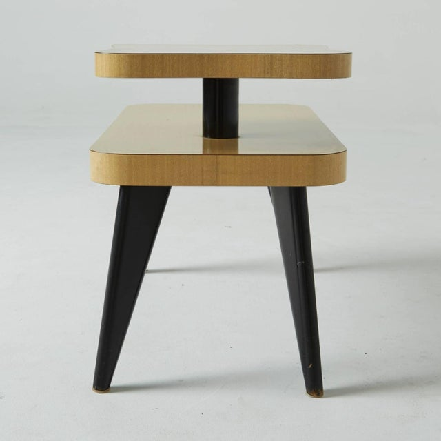Two-Tier Mid-Century Side Tables - A Pair - Image 6 of 7