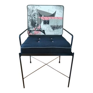 Mid-Century Modern Style Accent Chair For Sale