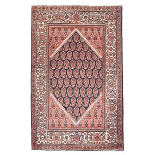 1920s Antique Malayer Persian Rug-4' X 6' For Sale