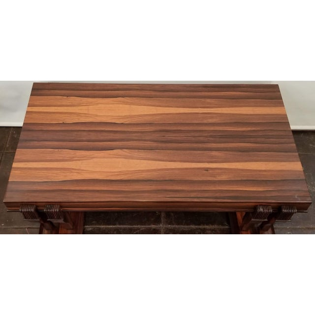 Coffee Traditional Style Bolivian Rosewood Coffee Table For Sale - Image 8 of 10
