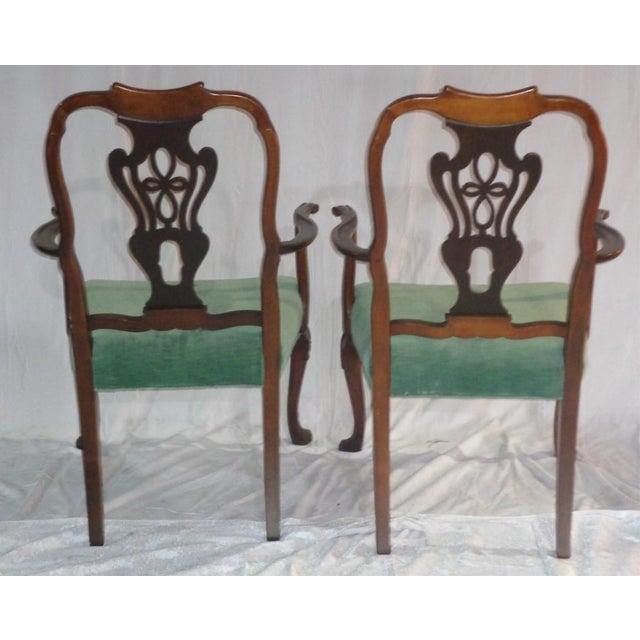 Batesville Mahogany Dining Chairs- Set of 6 - Image 11 of 11