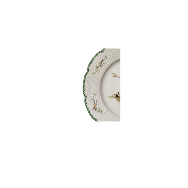 """Raynaud Chinoiserie Dessert Plates in """"Si Kiang"""" Pattern - Set of 5 For Sale - Image 9 of 10"""
