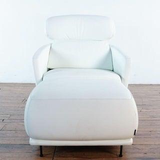 Ligne-Roset Okura High Back Chair & Ottoman Preview