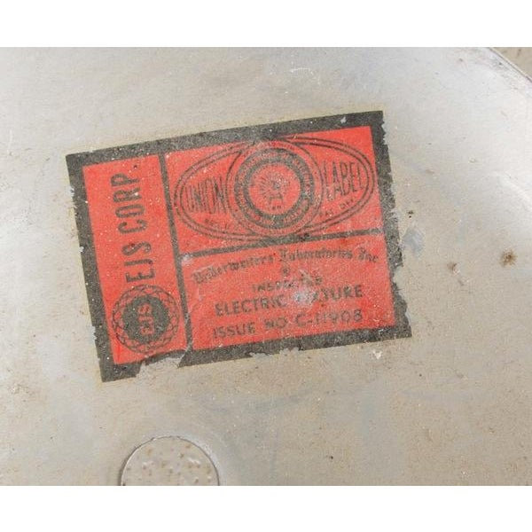 Mid-Century Atomic Copper Pendant - Image 7 of 9