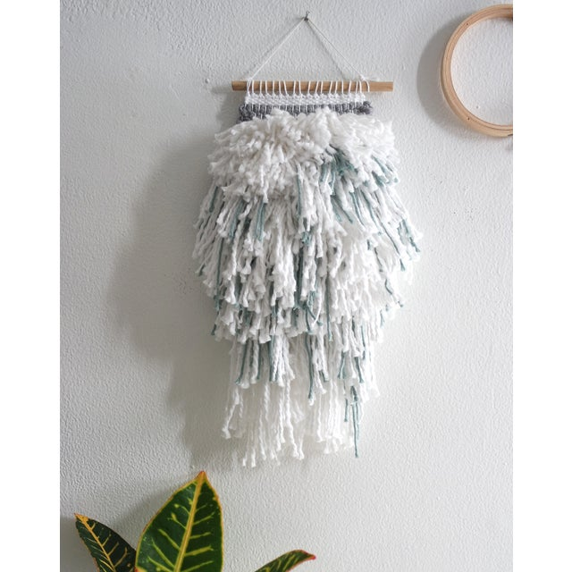 White Blue And Gray Weaving - Image 2 of 3