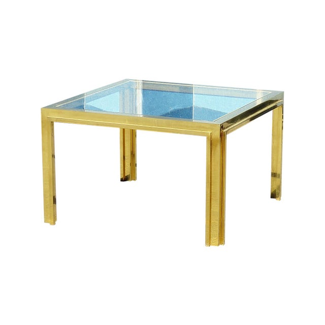 Mid 20th Century Mid Century Willy Rizzo Coffee Table For Sale - Image 5 of 5