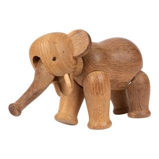 Kay Bojesen Wooden Elephant Figurine For Sale