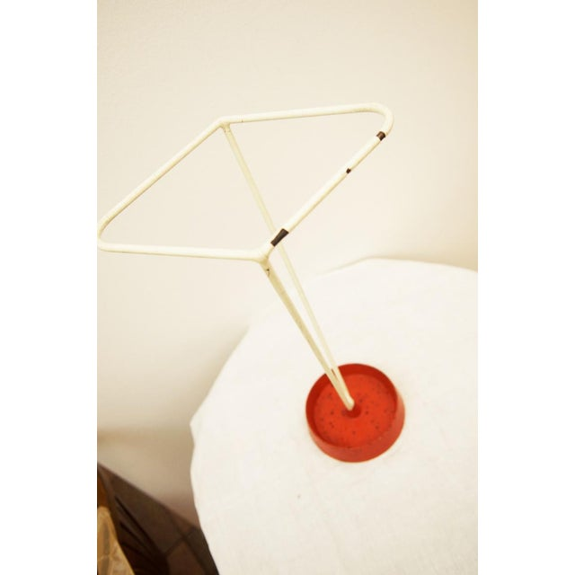 Mid-Century Modern Umbrella stand made of steel wire, 1950s For Sale - Image 3 of 8