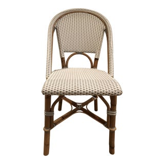 Traditional Serena and Lily Riviera Bamboo Side Chair