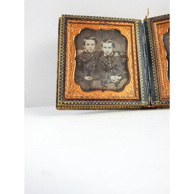 Mother of Pearl & Silver Inlay Daguerreotype Case - Image 5 of 6