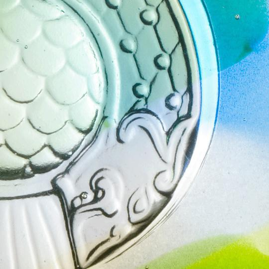 Contemporary Mythical Dragon Fish Protector Paperweight, Mixed Colors For Sale - Image 3 of 6