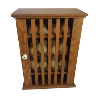 Antique Egg Cabinet C. 1865