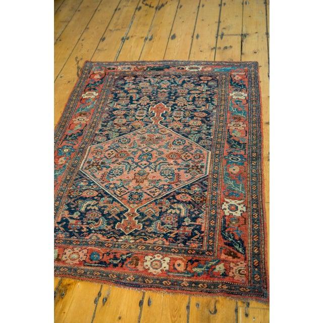 """Antique Persian Bijar Rug - 3'1"""" x 4'6"""" - Image 5 of 5"""