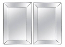 Image of Mirrored Glass Wall Mirrors