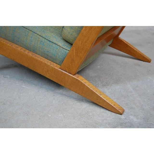Metal Modernist Lounge Chairs From France- a Pair For Sale - Image 7 of 9