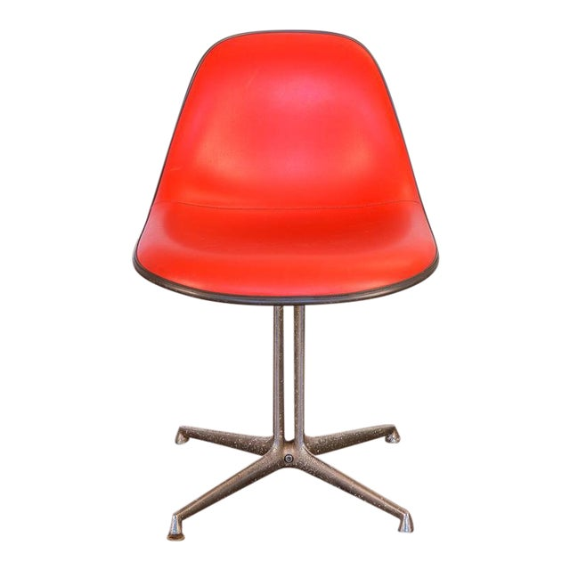 Red La Fonda Eames Chair for Herman Miller For Sale