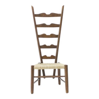 Gio Ponti Fire Side Chair, Italy, 1939 For Sale