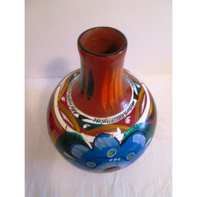 Mexican Artisan Ceramic Water Jug - Image 6 of 7