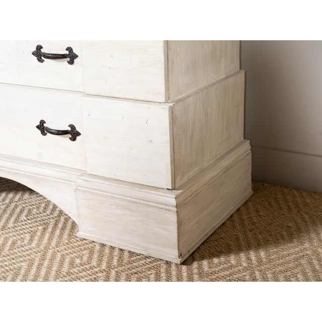 Shabby Chic McCadden Three Drawer Chest For Sale - Image 3 of 6