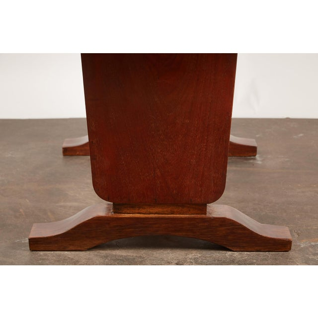20th Century French Colonial Art Deco Rosewood Desk - Image 9 of 9
